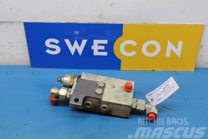 Volvo L35 Hydraul Slangbrottsventil
