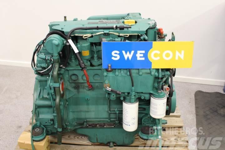 Volvo L45F Motor komplett rak typ