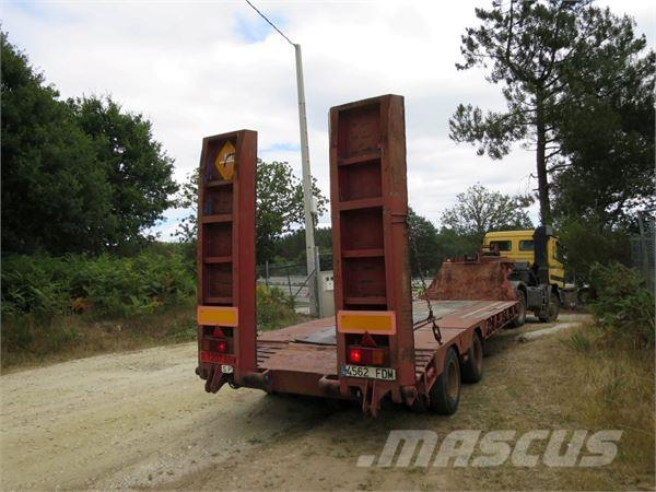 Fruehauf CT34-LC, Låg lastande semi trailer