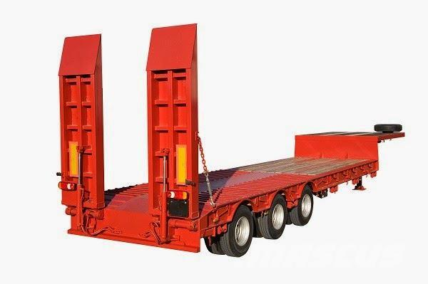 Lecinena LOW TRAILER 3 AXLES
