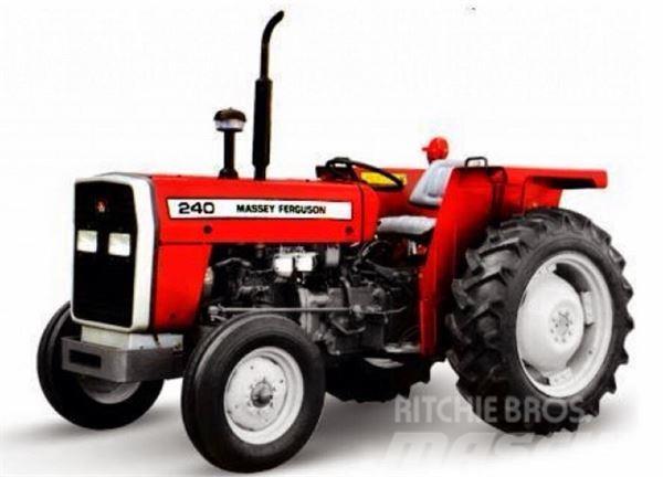 Massey Ferguson 240, Traktorer