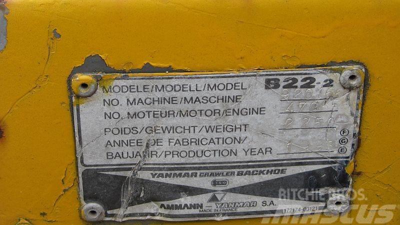 Yanmar B22.2 (SPARE PARTS ENGINE), Motorer