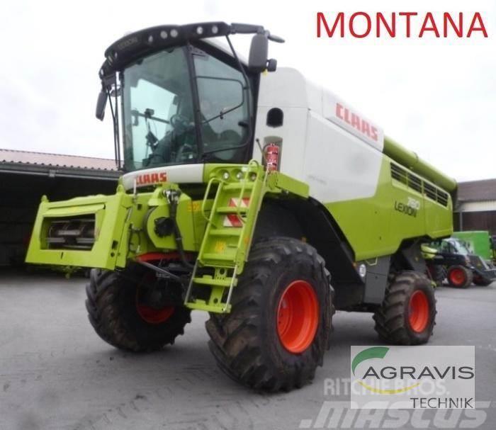 CLAAS LEXION 760 MONTANA