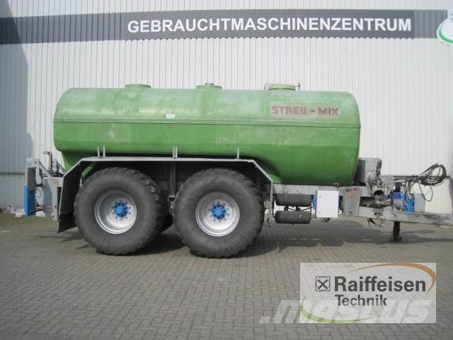 Streu-Mix Drehkolbentankwagen 18.500 Ltr