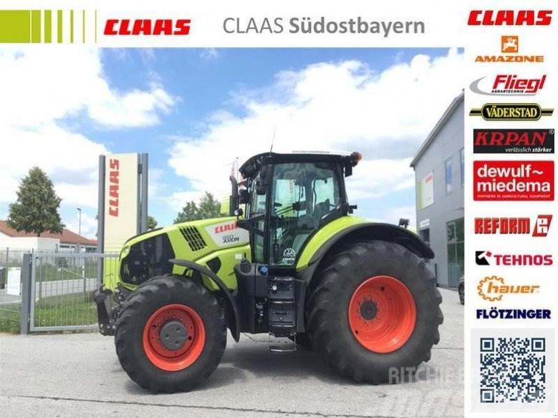 CLAAS AXION 850 CMATIC mit Lenksystem
