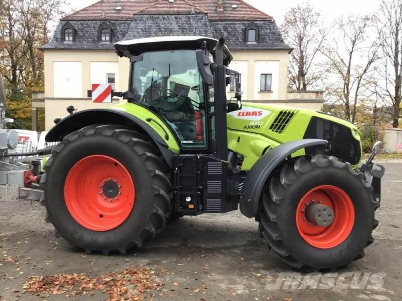 CLAAS AXION 870 CMATIC - STAGE V CE
