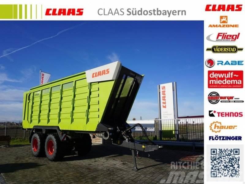 CLAAS CARGOS 750 Neumaschine, nachlaufgelenkte Tandemach