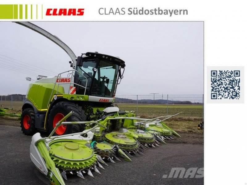 CLAAS JAGUAR 950 ALLRAD MIT ORBIS 750