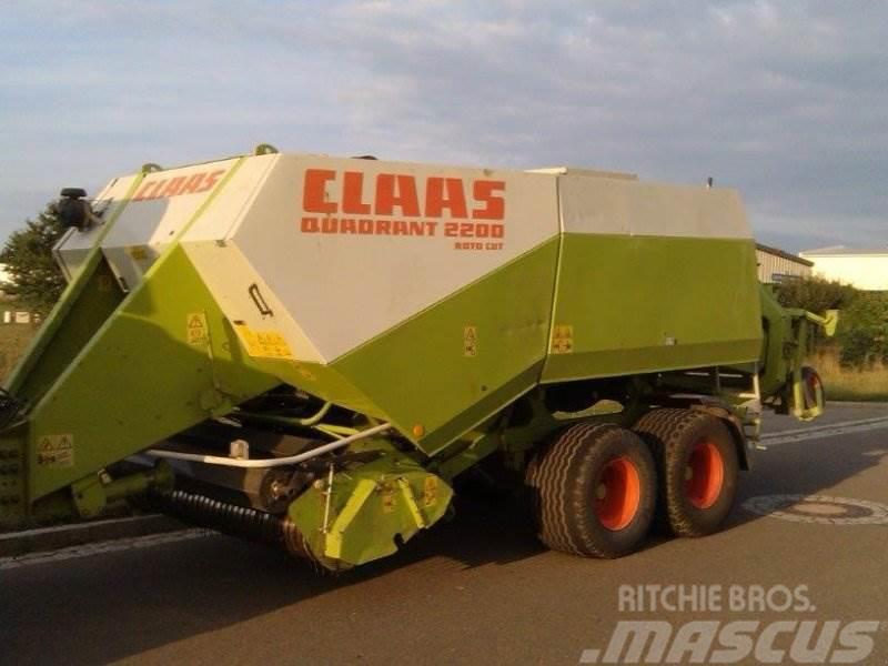 CLAAS Quadrant 2200 RC Tandem
