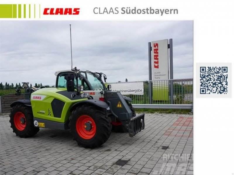 CLAAS SCORPION 7035_VORFÜHRMASCHINE