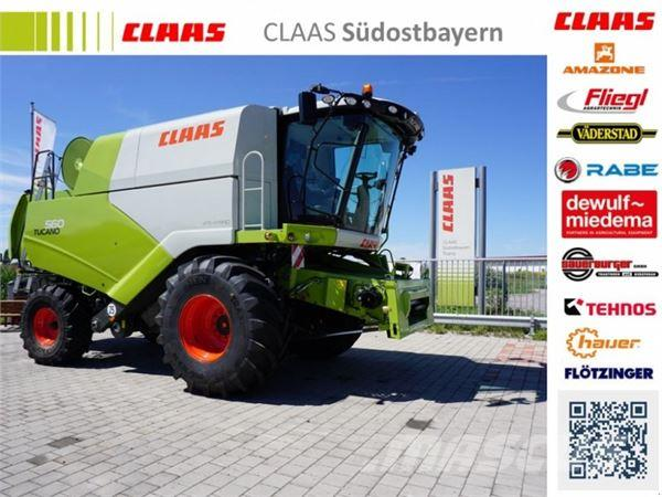 CLAAS Tucano 560 BUSINESS - TIER 4F, Neumaschine