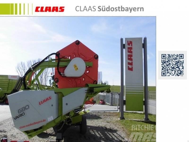 CLAAS VARIO 680 + TW _VORFÜHRMASCHINE