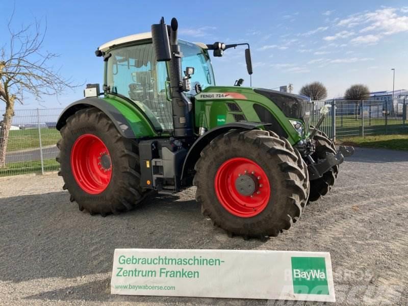 Fendt 724 Vario S4 Profi Plus RTK