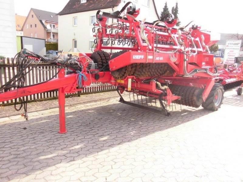 He-Va DK 820 Grassroller Prismenwalze mit Schlauchstreue