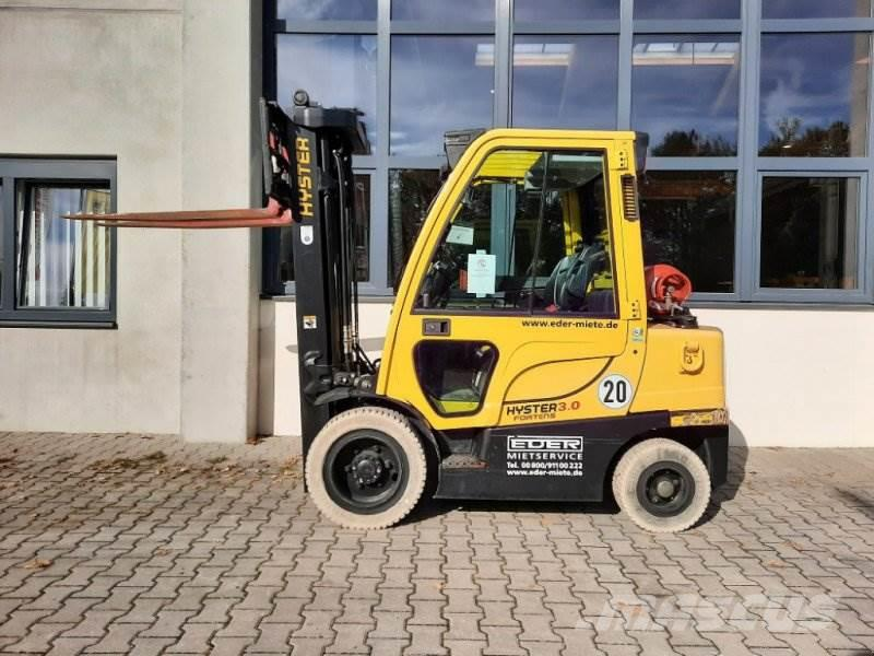 Hyster H 3.0FT Gas
