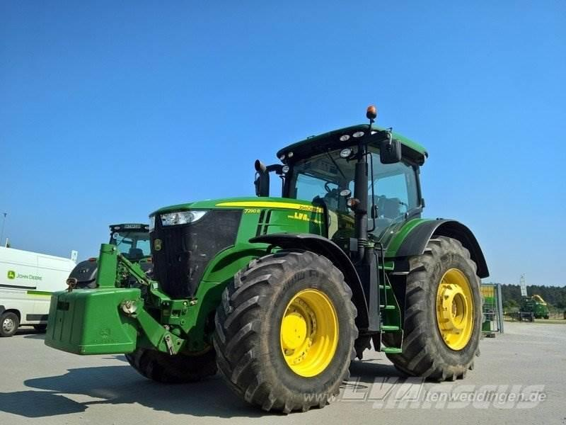 john deere 7290r occasion prix 99 000 ann e d 39 immatriculation 2014 tracteur john deere. Black Bedroom Furniture Sets. Home Design Ideas