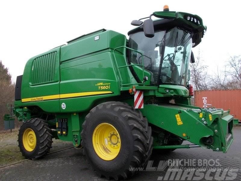 Used John Deere T560 Prodrive Combine Harvesters Year