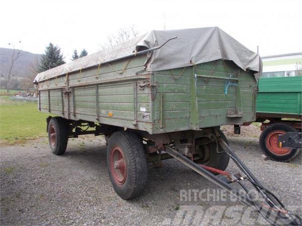 Kässbohrer Plattformwagen 10to