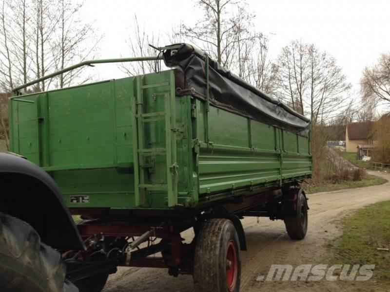 Used Köhler -kipper tipper trailers Year: 1978 Price: $8,697 for ...