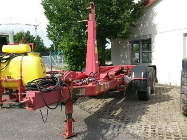 Krampe THL 16, 2008, Outros reboques agricolas
