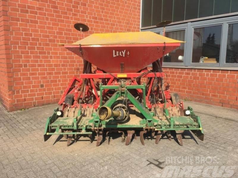 Lely Drillmaschine mit Kuhn Kreiselegge HRB 252 D