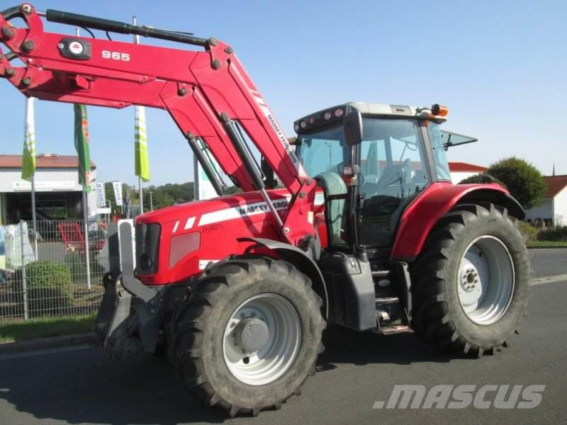 Massey Ferguson 6480 Dyna 6 mit Alö Q65 Frontlader