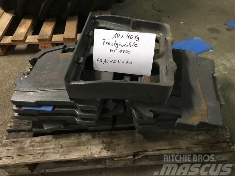 Massey Ferguson Frontgewichte 10X40 KG