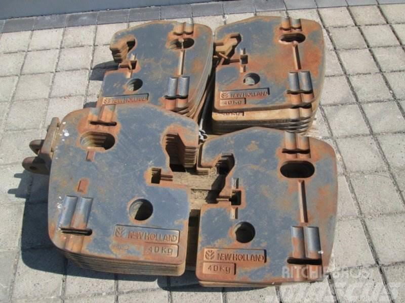 New Holland 880 KG (22 x 40 KG) Frontgewicht Koffergewicht