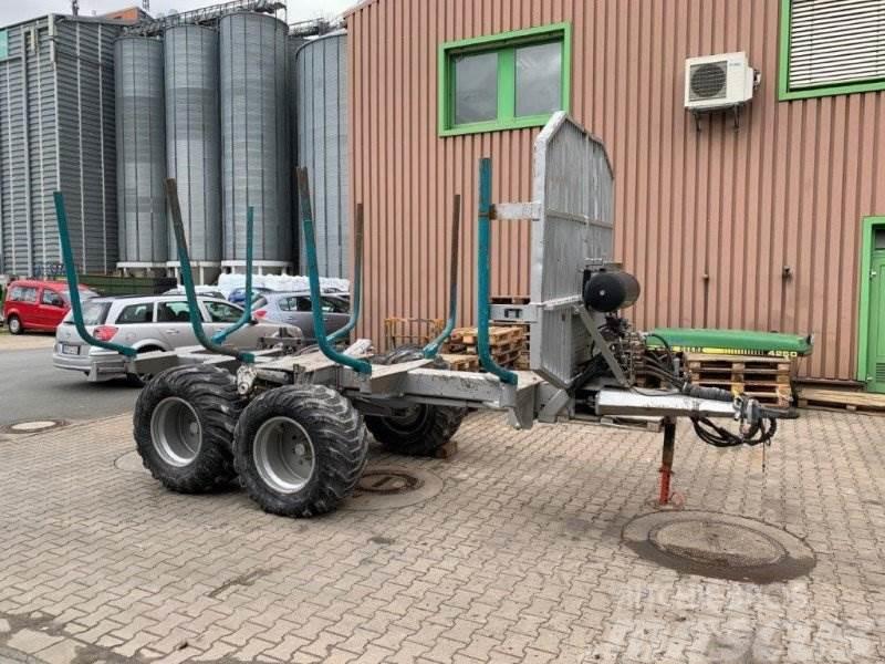 Pfanzelt 1266 Profi Rückewagen mit Radantrieb