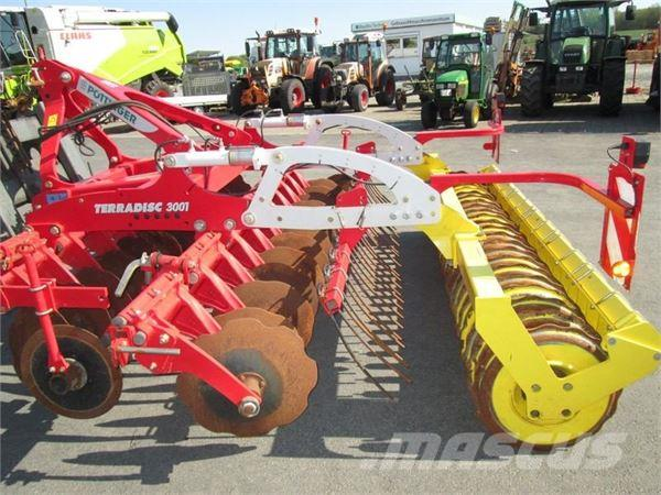 Pöttinger TERRADISC 3001, 2013, Disc harrows