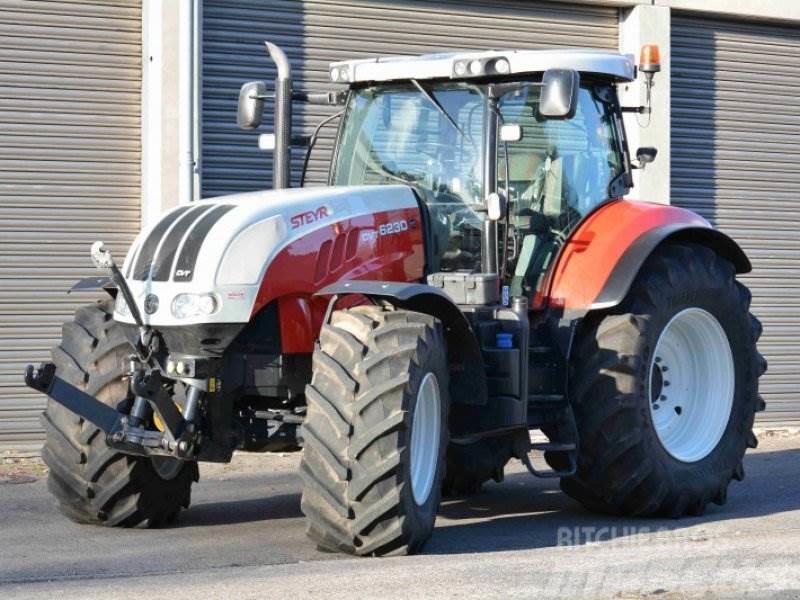 Gebrauchte Steyr Traktoren