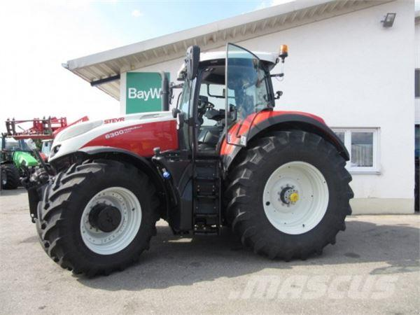 Used Steyr Terrus CVT 6300 tractors Year 2017 Price