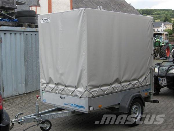 used wm meyer hz 7521 126 mit plane und spriegel other trailers year 2013 price 1 339 for. Black Bedroom Furniture Sets. Home Design Ideas