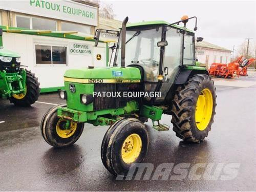 john deere 2650 occasion prix 6 900 ann e d 39 immatriculation 1992 tracteur john deere 2650. Black Bedroom Furniture Sets. Home Design Ideas