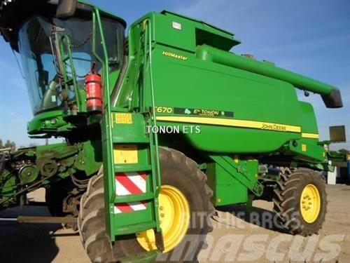 John Deere T670 HM 4X4