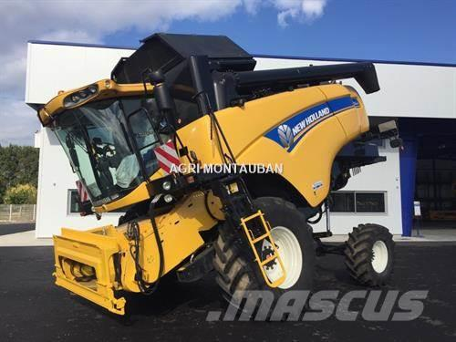 New Holland CX6090 Latérale 4WD