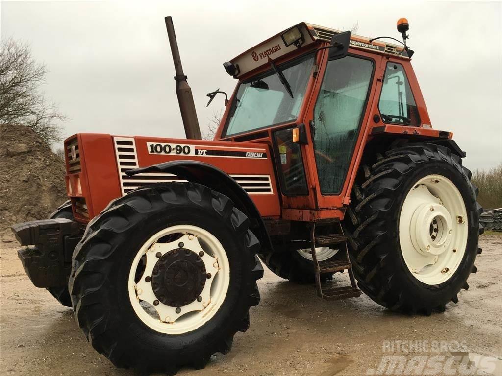 Fiat 100 90 Tractor : Used fiat en hver mands drØmme traktor tractors