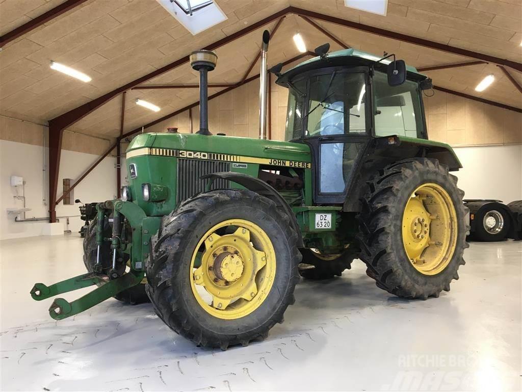 john deere 3040 turbo kØrer bare godt tractors year of mnftr 1986
