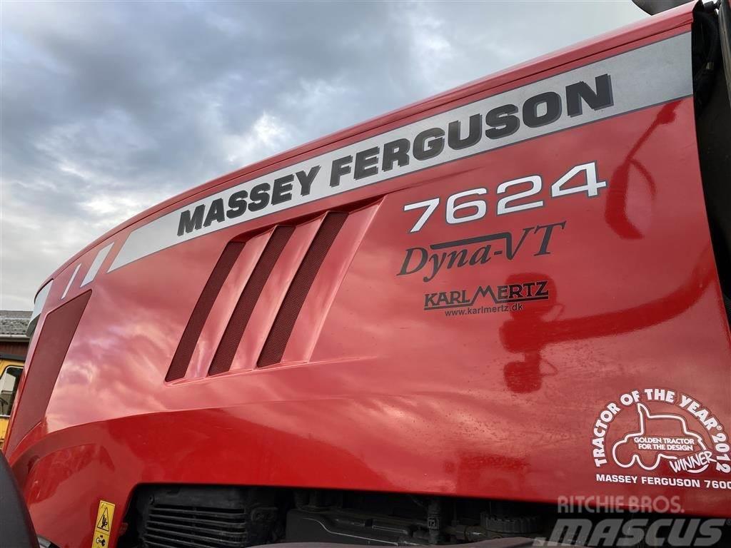 Massey Ferguson 7624 Dyna-VT PÅ VEJ HJEM!