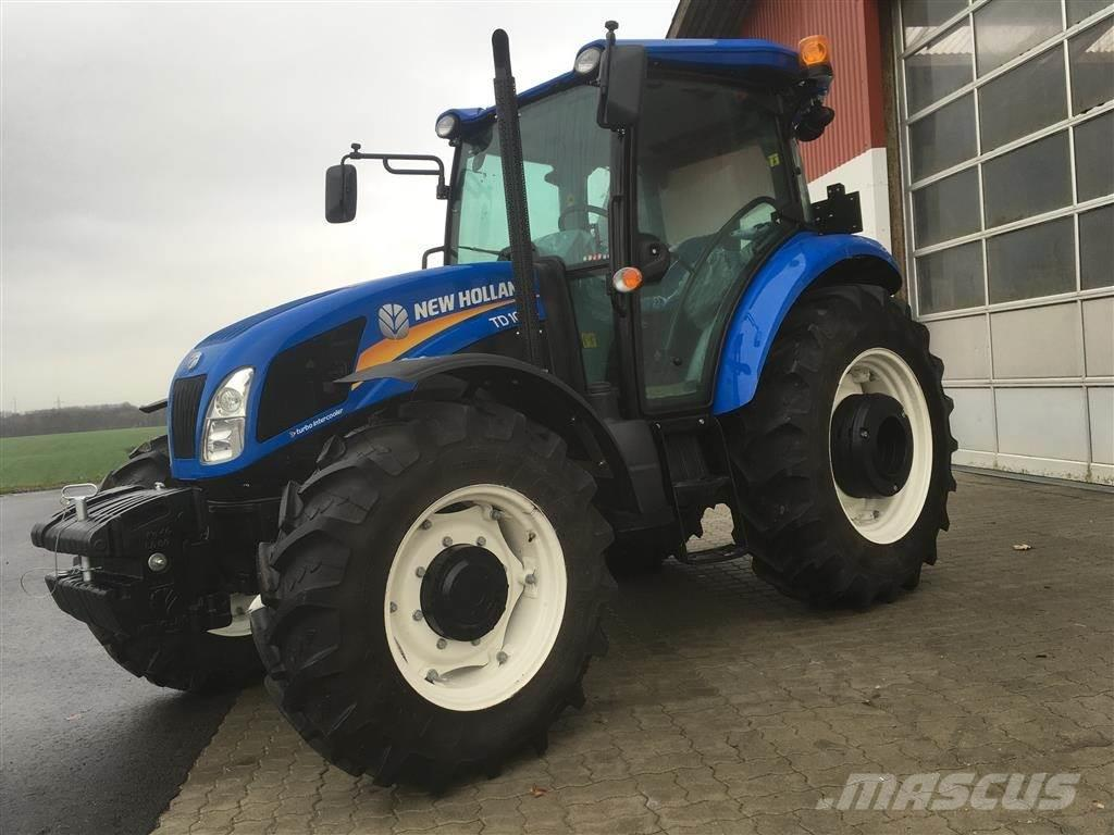 Used new holland td 100 d ubrugt traktor med koblingsfri for Dvf traktors