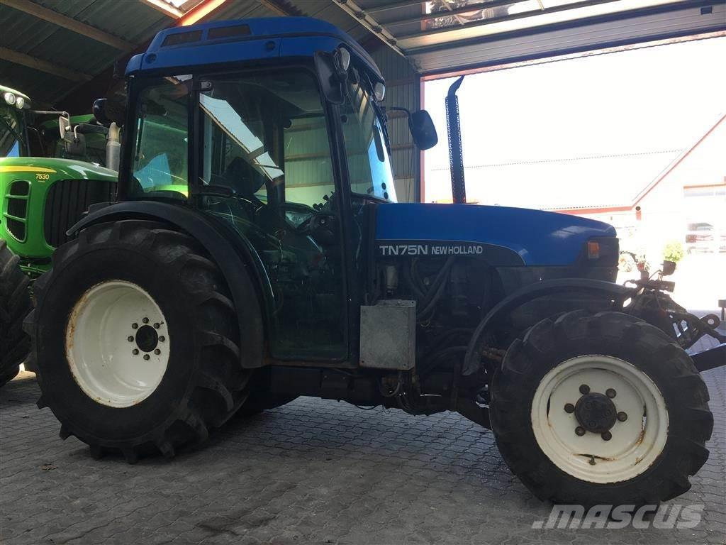 New Holland TN75 N MODEL MED EXTRA HYDRAULIK OG MEK.LIFT