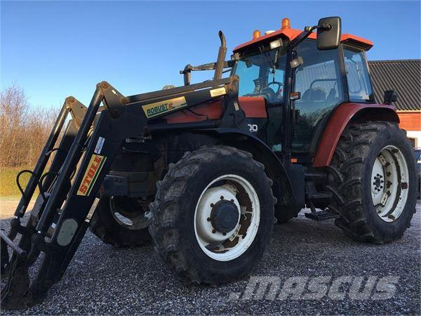 New Holland M100 MED FRONTLÆSSER OG EZ-GUIDE