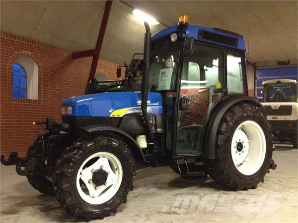 New Holland TN75 MED FRONLIFT OG FRONTPTO