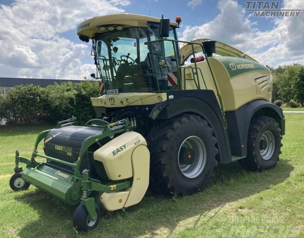 Krone BIG X 530 & E-Collect 600-2 & EasyFlow 300