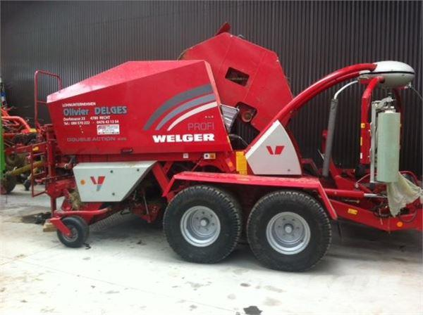 Welger Double action 235 Profi
