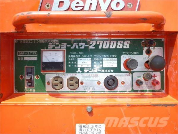 Denyo GRF-2.7, Welding machines