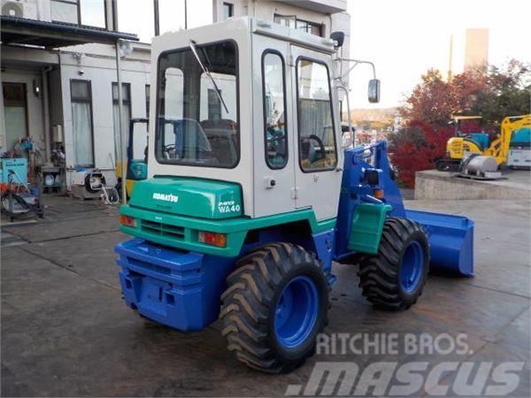 Komatsu WA40-3E, 1997, Wheel loaders