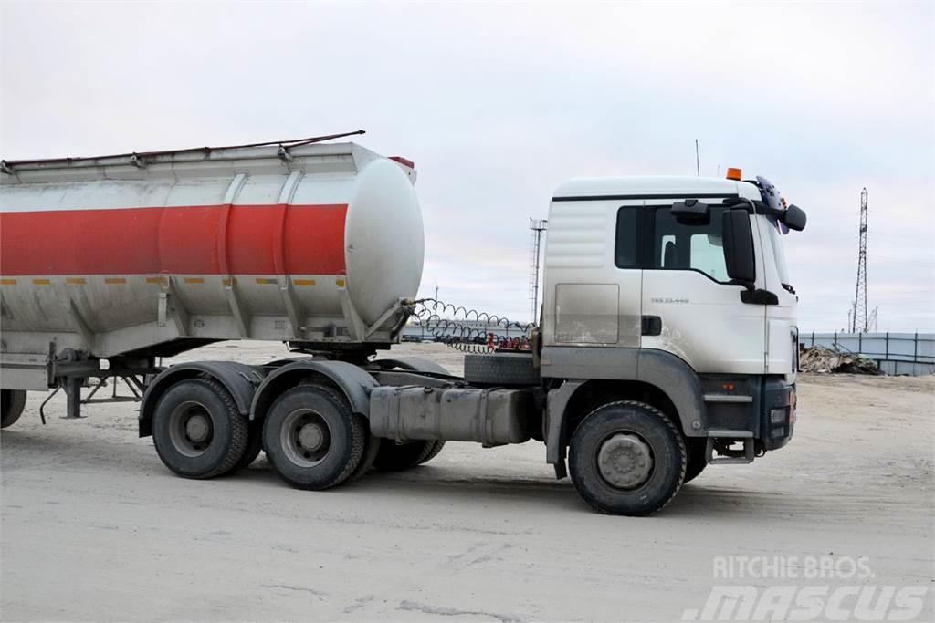 MAN SE MAN TGS 33.440 6x4 BВS-WW L кабина