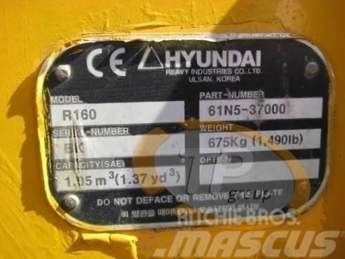 Hyundai 61N5-37000 Schaufel Hyundai R160, 2014, Övriga