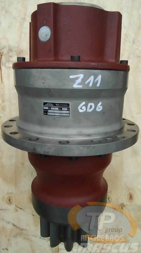 Linde CAT 213 Eder 825 GD6 Schwenkgetriebe Z11